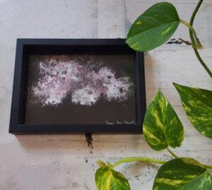 «Bretagne» ~ Dessin ~ Encre Acrylique & Encre de Chine ~ encadré 13x18cm ©PeggyAnnMourot Port compris France Belgique Luxembourg (ailleurs me demander)