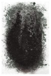 «Cyprès» ~ Dessin ~ Encre Acrylique & Encre de Chine ~ encadré 13x18cm ©PeggyAnnMourot Port compris France Belgique Luxembourg (ailleurs me demander)