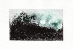 """""""Persée"""" ~ Dessin ~ Encre de Chine & Aquarelle ~ encadré 10x15cm SOLD OUT / Port compris France Belgique Luxembourg (ailleurs me demander)"""