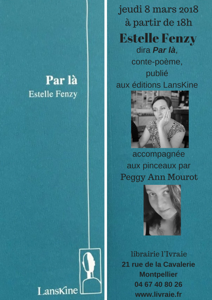 Estelle Fenzy & Peggy Ann Mourot ©PeggyAnnMourot