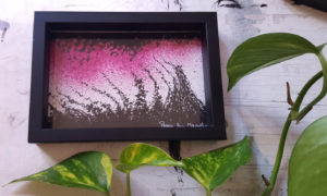 Le Fou framed ©PeggyAnnMourot
