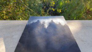 « Winter Sun » ~ Peinture ~ Acrylique ~ Encadré ~ 18x24cm ©PeggyAnnMourot Port compris France Belgique Luxembourg (ailleurs me demander)