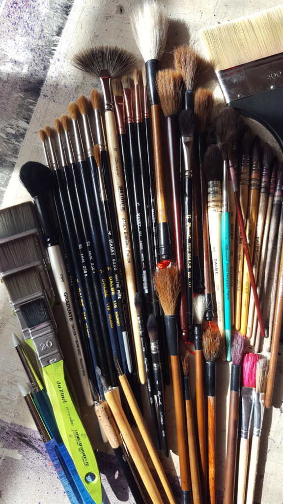 Paintbrushes ©PeggyAnnMourot