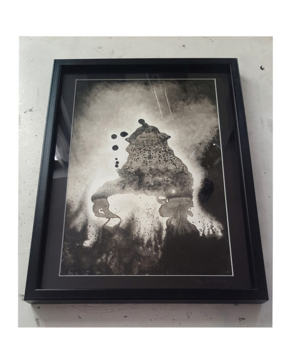 Swamp Thing Framed ©PeggyAnnMourot